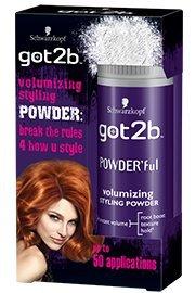 Schwarzkopf got2b Powder'ful Vol Style Powder 10g (2x Pack)