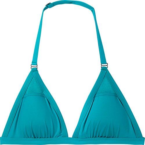 Oakley Bond Girl Fixed Halter Bikini Top - Women's Aqua S...