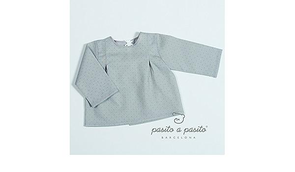 PASITO A PASITO Sweet Home Camisa Batista Topito (Piedra ...