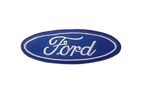 FORD Iron On Patch Embroidered Grand Prix Motif Applique for sale  Delivered anywhere in USA