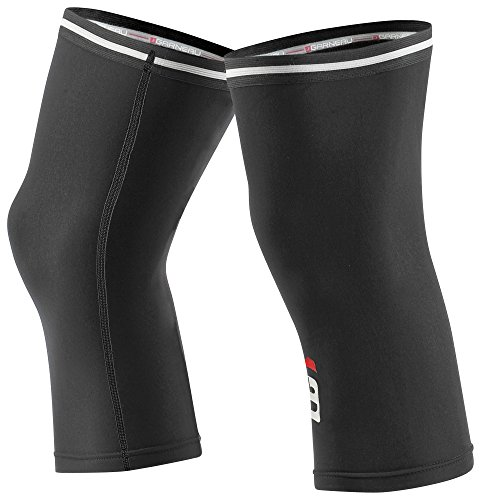 Louis Garneau Cycling Knee Warmers 2, Black, (Fleece Knee Warmers)