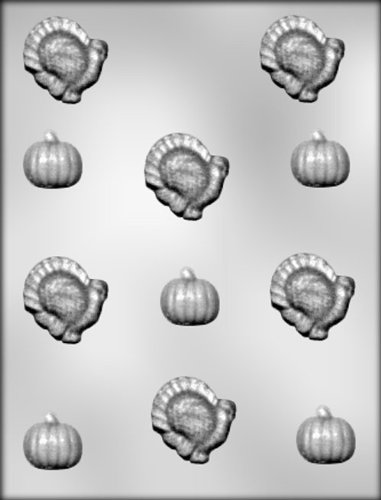 - CK Products Turkey and Pumpkin Chocolate Mold
