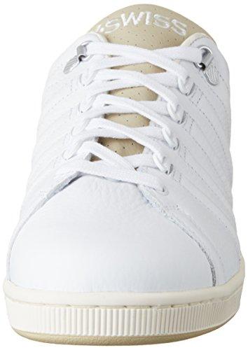 K III Homme White Swiss Lozan Blanc TT Khaki Basses Sneakers wq16wH7