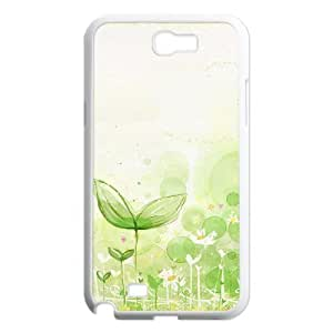 The growth of small trees Samsung Galaxy Note 2 Case White