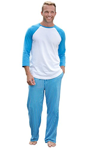 Cotton Striped Pajama Set - 1