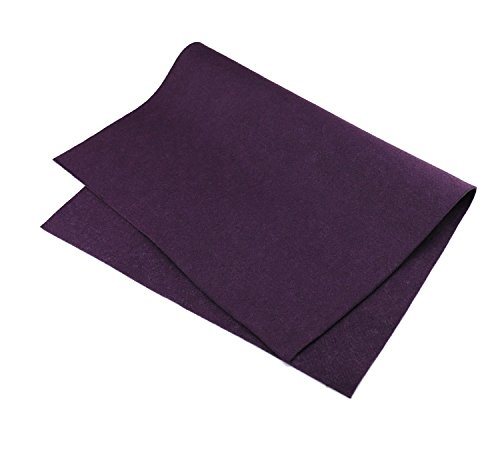 FJ021 Hmay Purple Thick Felt Mat for Sumi-e Painting & Ink Calligraphy 100 x 65 cm (39 x 25.6 inch) by Hmay Rice Paper