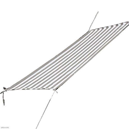 突然一緒に浸漬LIXIONG オーニングシェード遮光ネット 家庭用シェードレインネット通気性多目的フラワープロテクションネットポリエチレン、23サイズ (色 : Gray white, サイズ さいず : 1x1.5m)