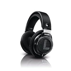 Philips SHP9500 HiFi Precision Stereo Over-ear Headphones (Black)