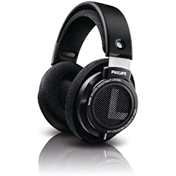 Philips SHP9500 HiFi Precision Stereo Over-ear Headphones (Black)