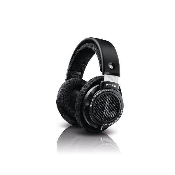 Philips HiFi Precision Stereo Over-Ear Headphones (Black)
