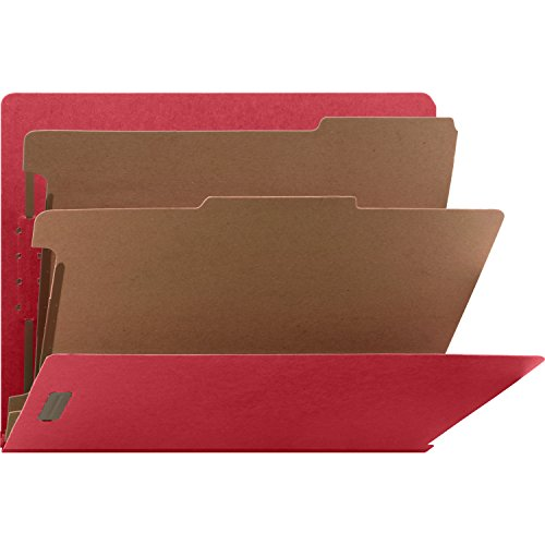 Nature Saver Recycled End Tab Classification Folders (NATSP17372)
