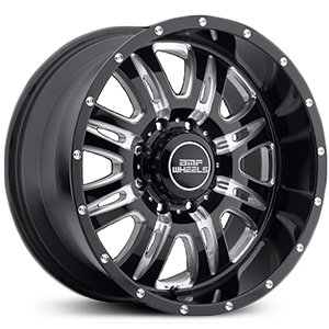 BMF Wheels Rehab Death Metal Black - 20 x 10 Inch Wheel (Bmf Rims)
