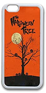 iPhone 6 Cases, Halloween Tree Personalized Custom Soft TPU White Edge Case Cover for New iPhone 6 4.7 inch by supermalls