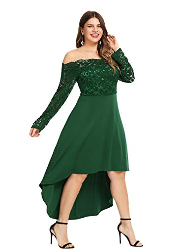 Vestito 3 4 Esprlia A Manica Donna Cocktail Green 1xd6w4qa