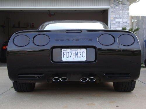 C5 Corvette 1997-2004 Acrylic Rear Blackout Kit - 7-Piece Set CorvetteMods