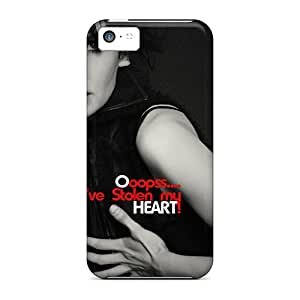 JeffMclaren Case Cover For Iphone 5c - Retailer Packaging Heart Protective Case