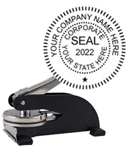 Black Desk Model Corporate Seal