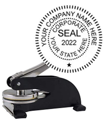 (Black Desk Model Corporate Seal)