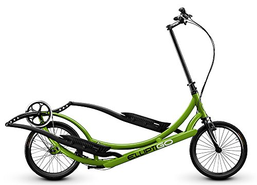 ElliptiGO 3C - The World's First Outdoor Elliptical Bike AND Your Best Indoor Elliptical Trainer (GREEN)