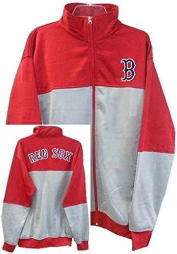 Majestic Boston Red Sox MLB 2-Tone Track Jacket Men's Big & Tall Sizes (3XL) ()