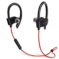 FREESOLO Wireless Bluetooth 4.1 In-Ear Noice Isolating Sport Earbuds with Mic and Controller