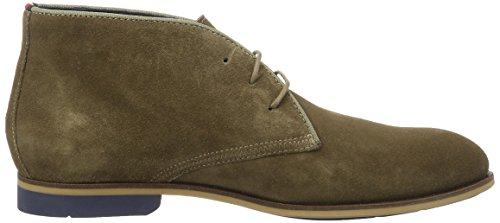 Tommy Hilfiger C2285ampbell 1b, Botines para Hombre Verde (Shitake 012)