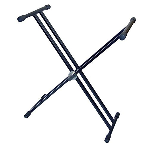 Pyle PKS20 Double X Braced Heavy Duty Keyboard Stand