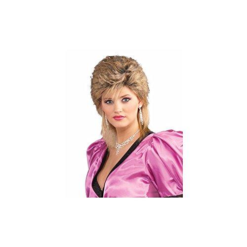 Forum Novelties Women's 80's Salon Wig-Mixed, Blonde,