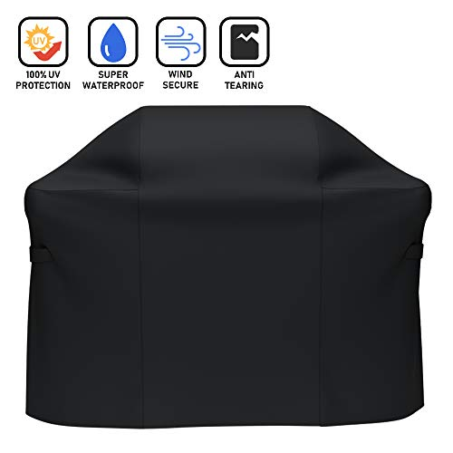 X Home 7106 Cover 52″ Replacement for Weber Spirit II E-310 Grill Cover, for Weber Spirit 300/310 Cover, for Weber Spirit E310, 600D UV & Fade Resistant Cover for Weber 2 Burners / 3 Burners Grill