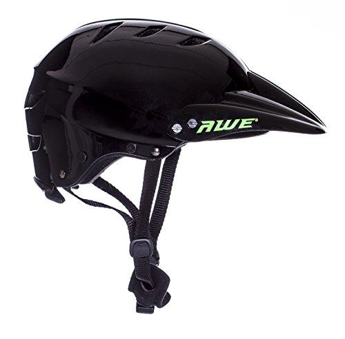 AWE FREE 5 YEAR CRASH REPLACEMENT Full Face Helmet Black Large by AWE (Image #6)