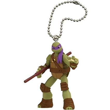 Animewild Teenage Mutant Ninja Turtles TMNT Donatello Mascot Keychain