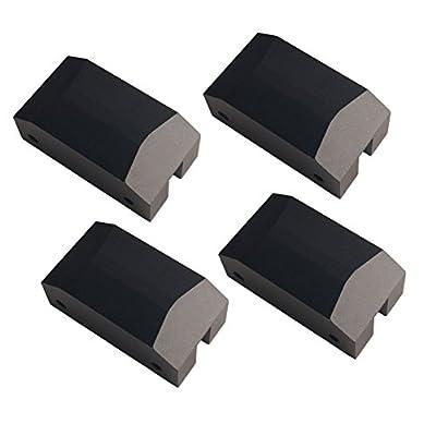 Dewhel Jack Pad Adapter Billet Anodized Black Aluminum Floor Jack For Camaro Focus Chevy SS Lexus Gsf