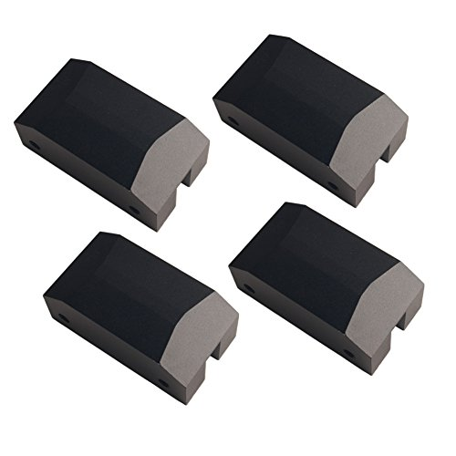 Dewhel Jack Pad Adapter Billet Anodized Black Aluminum Floor Jack For 5th Gen Camaro 10-15 Lexus GSF Ford Focus (Camaro 12 Bolt)