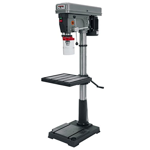 JET J-2550 20-Inch 1-Horsepower 115-Volt Single Phase Floor Model Drill Press