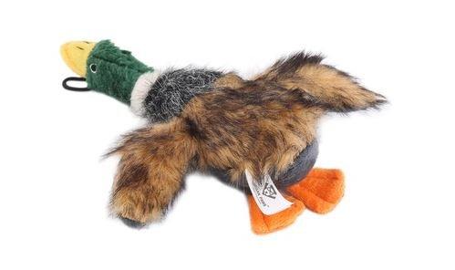 URBAN PAWS Squeaking Duck Dog Toy Plush