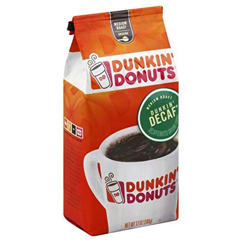 Dunkin' Donuts Decaf Original Blend Ground Coffee Medium Roast, Original, 6 - Donuts Decaf Coffee Dunkin