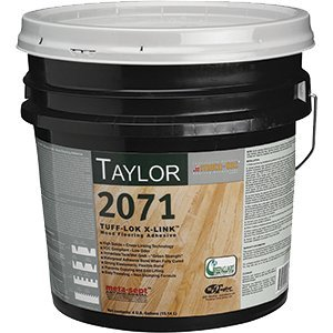 WF Taylor 2071-4 4 gal. Tuff-Lok X-Link Wood Flooring Adhesive - Glue Engineered Floor