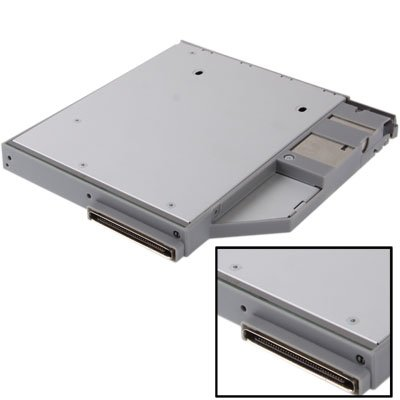CAOMING 2.5 inch 2nd HDD Hard Drive Caddy SATA for DELL D600/ T61 / D610 / D620 / D630 / D820 /D800 by CAOMING