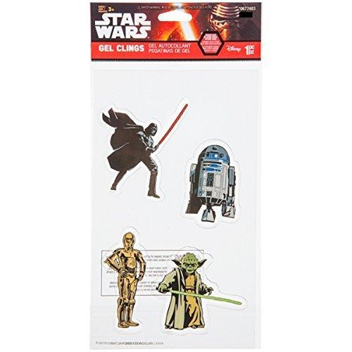 Gemmy Star Wars Window Gel Clings by Disney