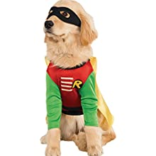 DC Comics Teen Titans Pet Costume, Large, Robin