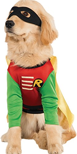 DC Comics Teen Titans Pet Costume  Large  Robin (Large Image)