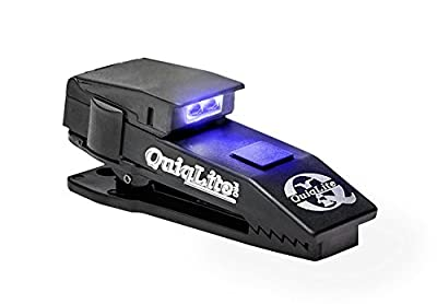QuiqLitePro Hands Free Pocket Concealable Flashlight (Various LED Color Options)
