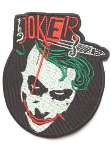 [The Joker Patch Embroidered Iron/Sew on Badge - 4