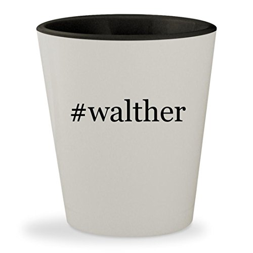 #walther - Hashtag White Outer & Black Inner Ceramic 1.5oz Shot Glass (Walther Cp99 Co2)