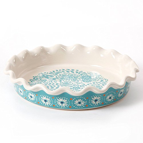 The Pioneer Woman 9 Inch Stoneware Pie Dish (1) by The Pioneer Women