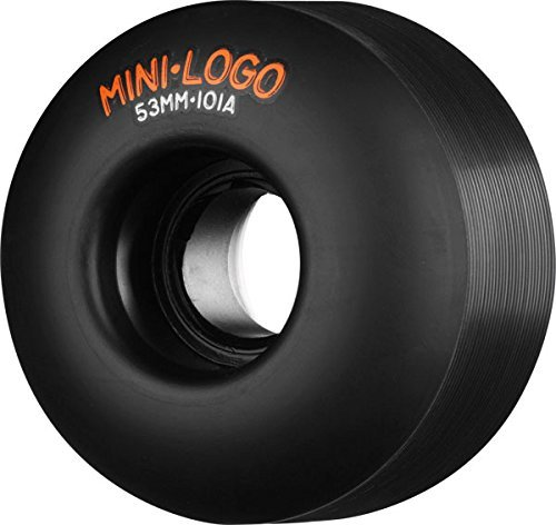 Mini Logo C-Cut 53mm 101a Black Skateboard Wheels