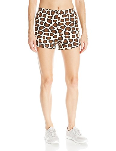 Giraffe Print Fashion - Soffe Women's Jr Printed Short Cctn, Giraffe, Medium