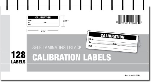 calibration-labels-self-laminating-with-spiral-bound-cover-black