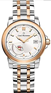 Carl F. Bucherer Patravi Autodate Power Reserve 18ct Gold and Steel