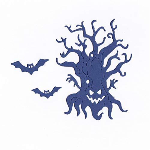 Danyerst Halloween Tree Metal Cutting Dies Stencil DIY Scrapbooking